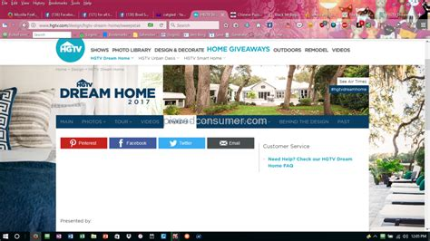 Home Giveaway 2017 - 17 hgtv website reviews and complaints pissed consumer