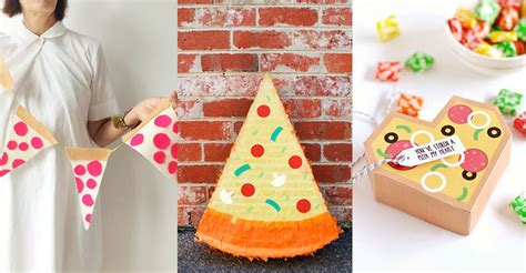 decorations diy deliciously awesome diy pizza decorations