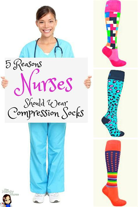colorful compression socks for nurses 5 reasons why every should wear compression socks