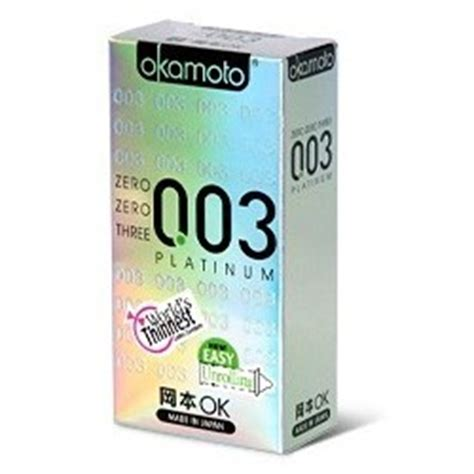 Jual Okamoto Platinum 0 03 Made In Japan Unik okamoto 0 03 platinum 1 ช น zeedcondom
