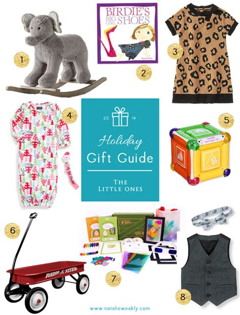 holiday gift guide for the littles signature style