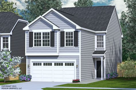 2 Car Garage With Loft by Houseplans Biz House Plan 2018 A The Keller A