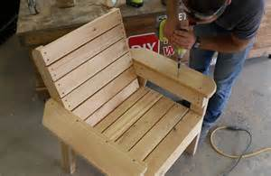 diy stuhl diy patio chair plans and tutorial step by step