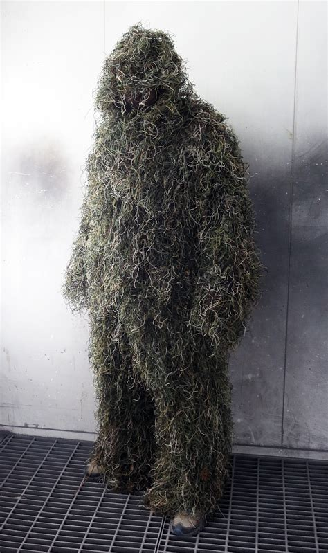 the ghillie suit paintball media