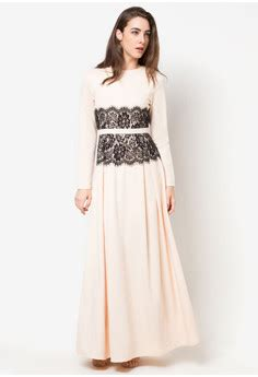 Lace Fit Flare Dress Zalia insanely gorgeous muslimah you ll want to wear