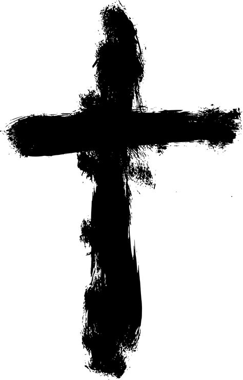 6 Grunge Cross (PNG Transparent) | OnlyGFX.com