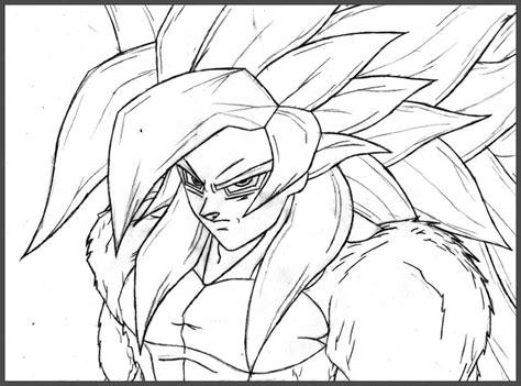 imagenes de goku para calcar dibujos de goku para dibujar faciles archivos dibujos de