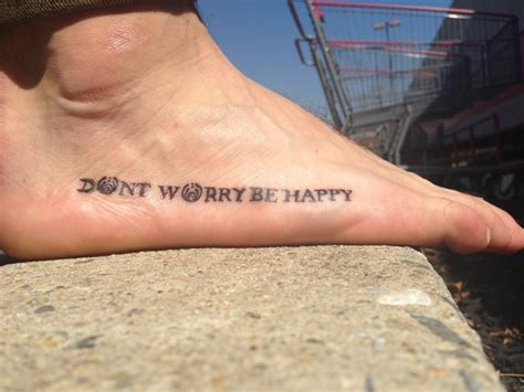 don t worry be happy tattoo dont worry be happy www imgkid the image