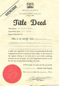 Deed Of Ownership Template by Students Develop System For Land Protection Pc Tech Magazine