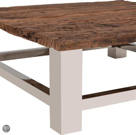 salontafel 120 x 120 bol luxur houten salontafel 120x120 cm wonen