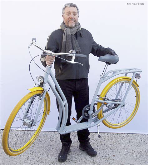 Philippe Starck by Philippe Starck S Pibal An Urban Hybrid Bike Scooter