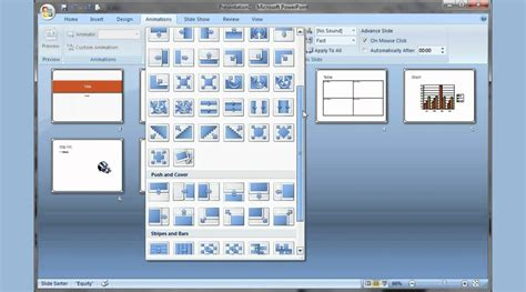 powerpoint 2007 animating text and images