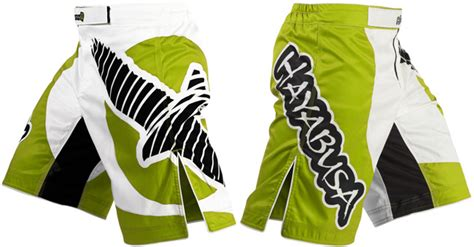 Hayabusa Chikara Mma Shorts Green hayabusa chikara fight shorts green