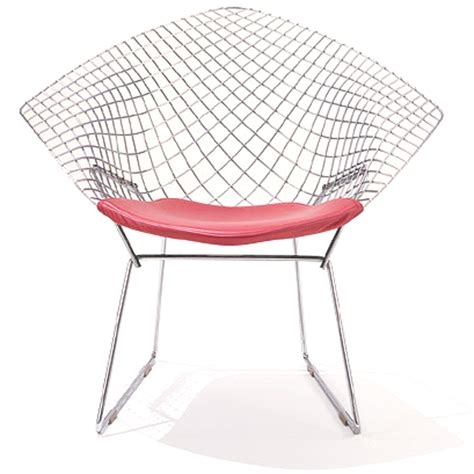shop knoll bertoia lounge chairs with seat cushions