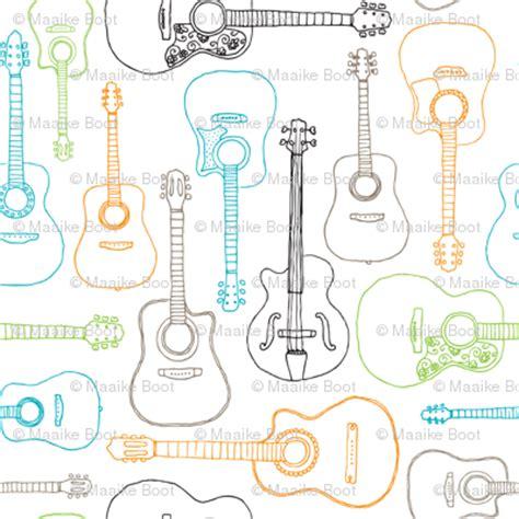 pattern music maker rock music instrument guitar pattern wallpaper