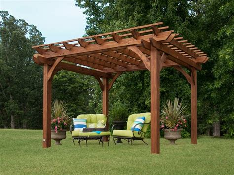 leisure time 10 x 10 pergola 150551 by leisure time