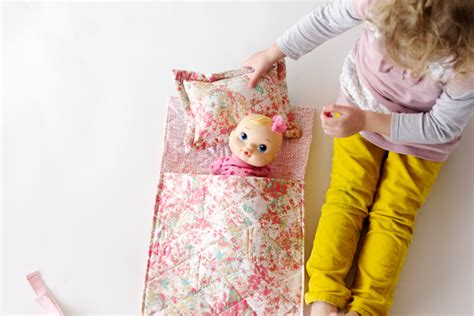 sewing pattern for 18 x 18 pillow easy doll sleeping bag tutorial see kate sew