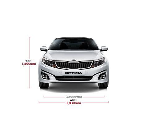Kia Dimensions Kia Optima Specs 4 Door Sedan Kia Motors Aruba