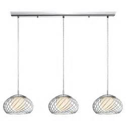 eglo thebe 3 light kitchen island pendant reviews wayfair