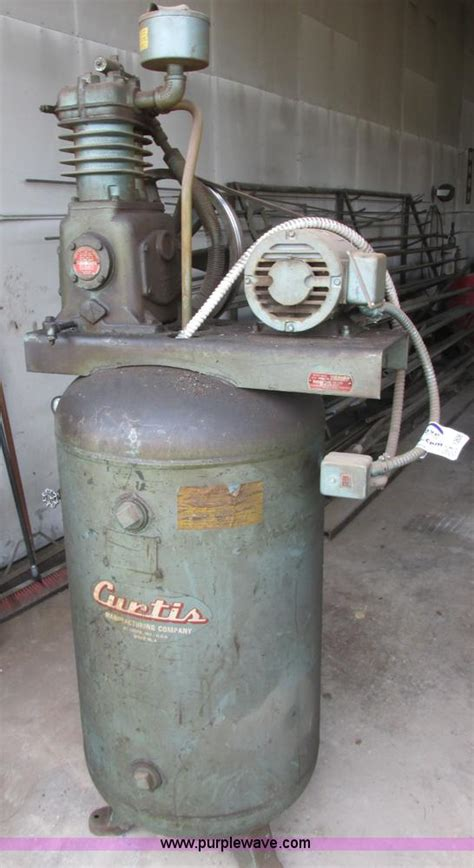 curtis c96 two stage air compressor item i2606 sold jun
