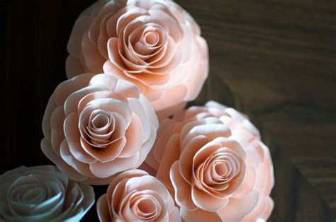 3d paper flowers template paper flowers wedding crafts