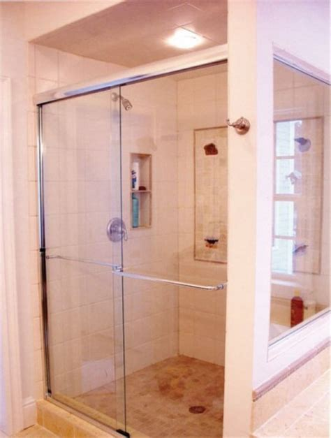 Shower Door Contractors Frameless By Pass Sliding Shower Doors Oasis Shower Doors Boston Ma