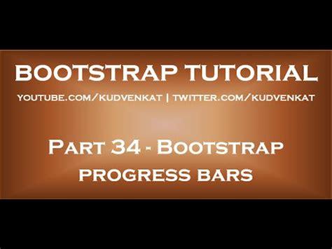 bootstrap tutorial visual studio 2010 progress bar with percentage c doovi