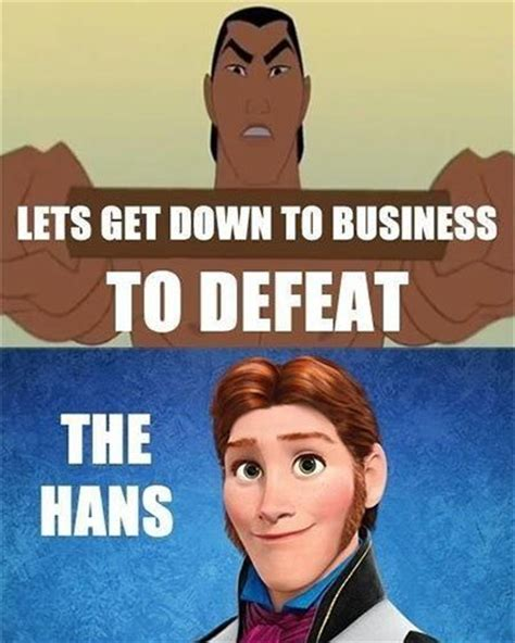 frozen film hans frozen memes funny jokes about disney animated movie