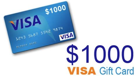 Free 1000 Visa Gift Card - 1 000 visa gift card giveaway whole mom