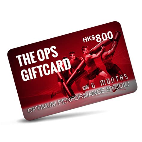 Hk Gift Card - ops gift card hk 800 ops