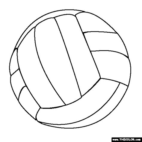 free printable volleyball images 14 coloring pictures volleyball print color craft