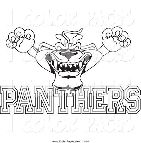 panthers coloring pages nfl nfl panthers pages coloring pages