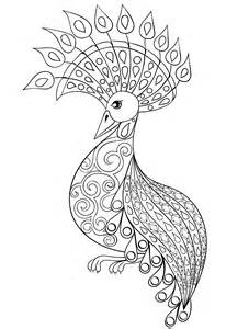 peacock coloring pages for adults 10 free printable coloring pages