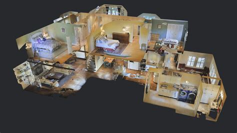 house plans with 3d tour media kit matterport
