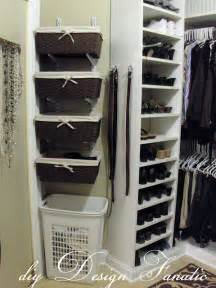 baskets for closet shelves install elfa organizers to closet space and add