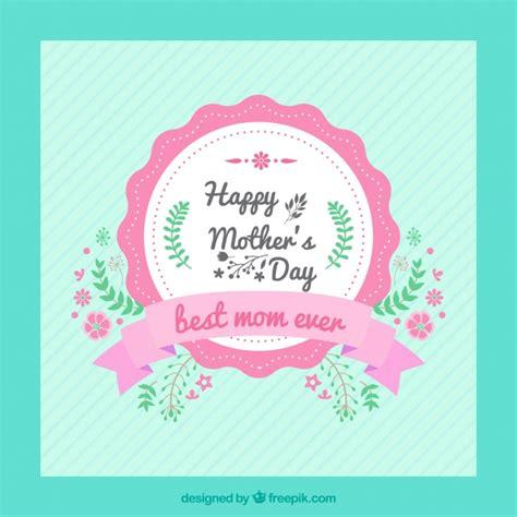 imagenes vintage dia de la madre tarjeta vintage de feliz d 237 a de la madre descargar