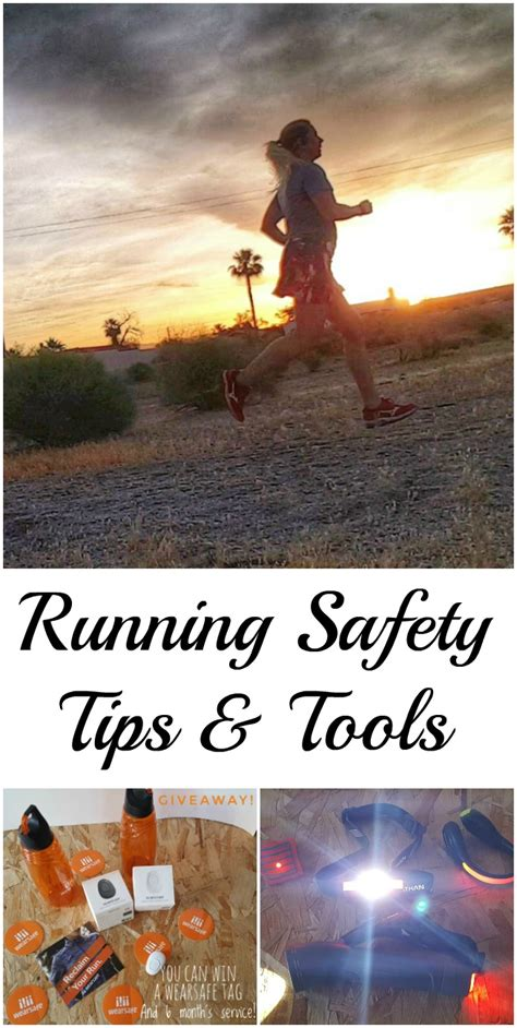 running safety tips running safety tips and tools