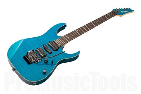 Ibanez S Series Blue ibanez rg3770fz tb prestige transparent blue promusictools