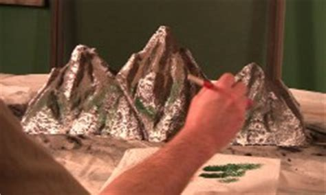 How To Make A Mountain Model Out Of Paper - mt everest model