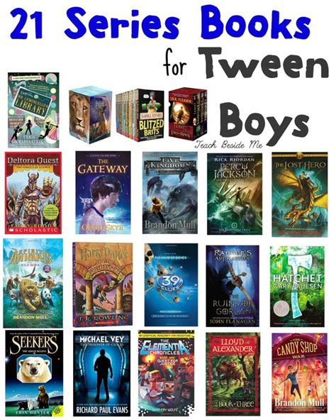 picture book series 21 series books for tween boys boys tween and book