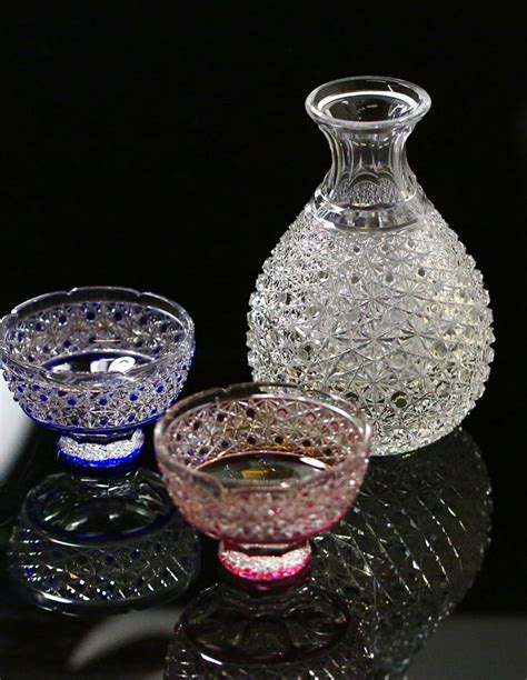 japanese barware edo kiriko japanese glass making taught by a first class