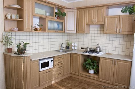 Kitchen Cupboards Pictures Of Kitchens Traditional Light Wood Kitchen
