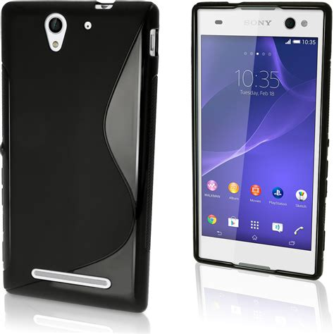 Sony Xperia C3 Hardcase Bening Custom Casing Cover Hj 36 igadgitz s line wave glossy tpu gel skin cover for sony xperia c3 d2533 screen protector