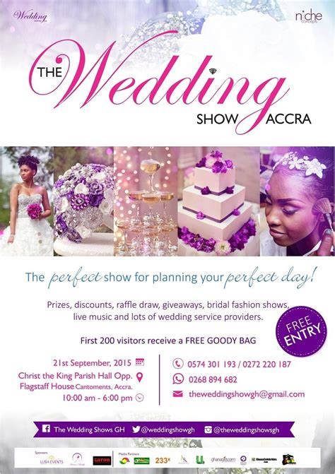 National Wedding Show Brochure by Are You Planning For Your Wedding Then Be At The Wedding