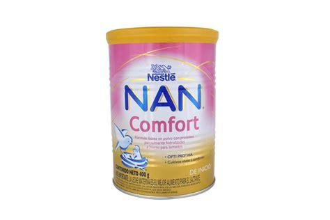 nan comfort formula comprar nan comfort polvo tarro con 400 g en farmalisto