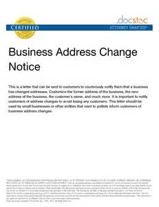 Business Notification Letter Template Best Photos Of Template Notice Of Name Change Company