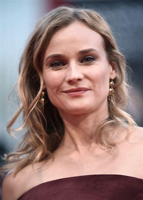 Diane Kruger Hairstyles by Diane Kruger Medium Wavy Cut Diane Kruger Looks