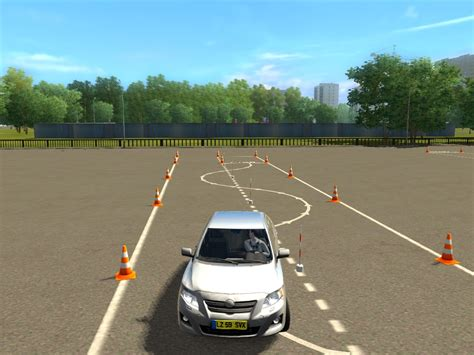 free drive city car driving simulator 2013 luck