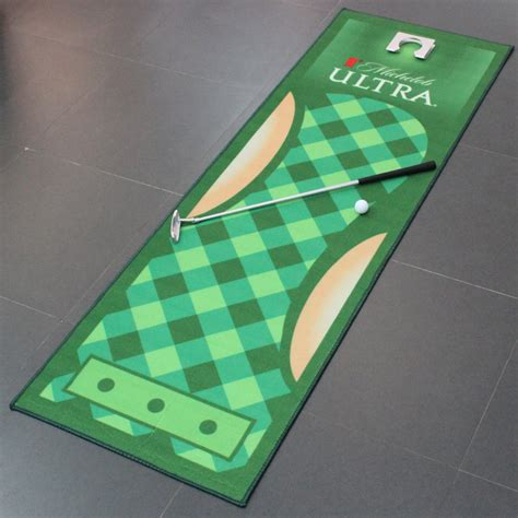 Custom Mat Printing by Custom Printed Golf Mats For The Office