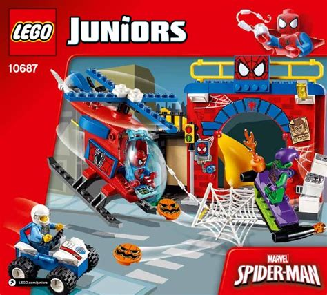 Mainan Anak Lego Junior 10687 lego spider hideout 10687 junior